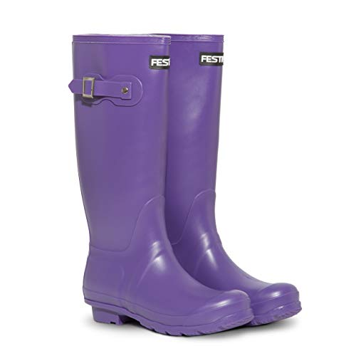 Festival Ladies Womens Tall Wellington Boots
