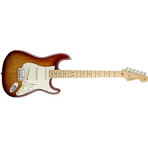 Fender American Standard Stratocaster SSB Sienna Sunburst Maple Neck - Maple Sunburst