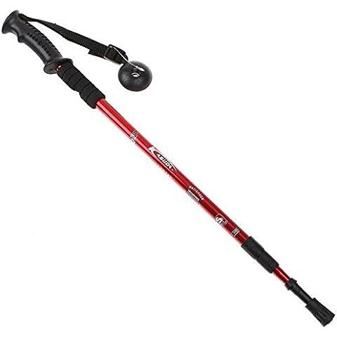 lerysox (TM) per il Regno Unito regolabile AntiShock Trekking Escursionismo Bastone da passeggio Polo 26