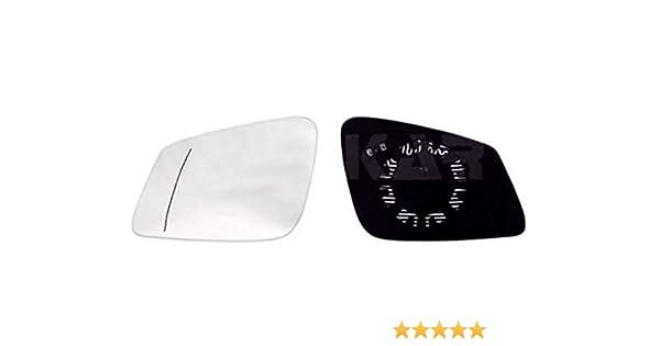 van Wezel 3781838 Außenspiegel Spiegelglas rechts beheizbar für OPEL