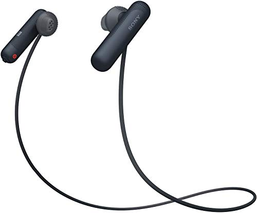 Sony WI-SP500 Wireless Sports Headphones (Black)