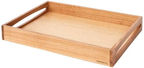 Continenta 4140Eiche Holz Tablett, Licht Braun