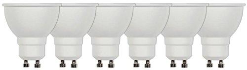 Westinghouse Lighting LED, POLYCARBONATE, GU10, 7 W, warmweiß, 6 pieces Pack, 6 Einheiten -