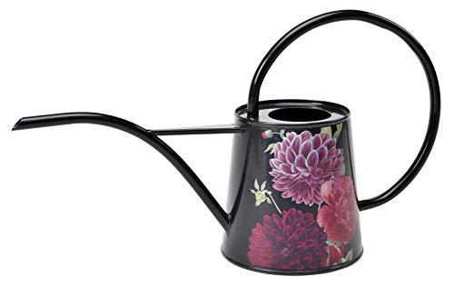 Burgon & Ball Arrosoir d'intérieur en 1L léger en Design Bloom Britannique | Longue portée Arrosoir pivoines et Dahlias