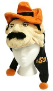 NCAA Oklahoma State Cowboys Thematic Mascot Dangle Hat by Forever