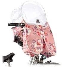Basil Blossom Jugendstil ARC Regentunnel All Rain Cover Pink Rosa Fahrrad Fahrradsitz Regenschutz Mädchen 50026
