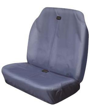 Preisvergleich Produktbild xtremeauto® Große, schwere, wasserdicht, Van, Sicherheitsgurt kompatibel, Hohe Rückenlehne Sitzbezüge (grau)