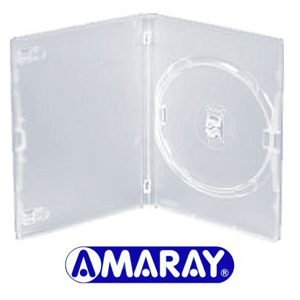 Amaray - Estuche para DVD/CD/BLU Ray (50 Unidades)
