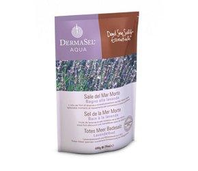 DermaSel Spa Sel de la Mer Morte Bain à La Lavande 400 g