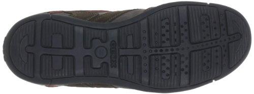 Geox U Cart V, Sneaker Uomo Grigio (Dove Grey/Chestnut C1559)