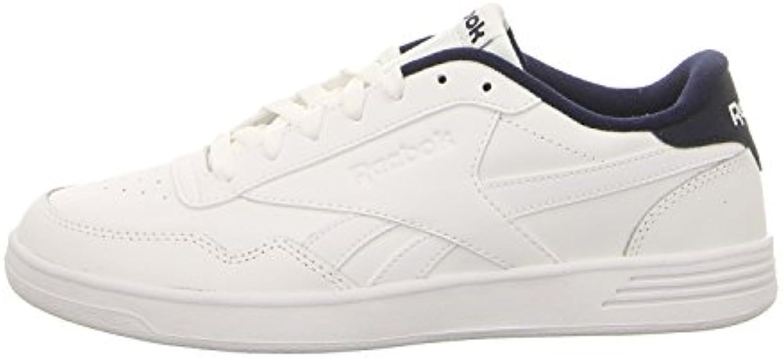 Reebok Royal Techque T, Zapatillas de Tenis para Hombre, Blanco (CP/White/White/Collegiate Navy 000), 45 EU  -