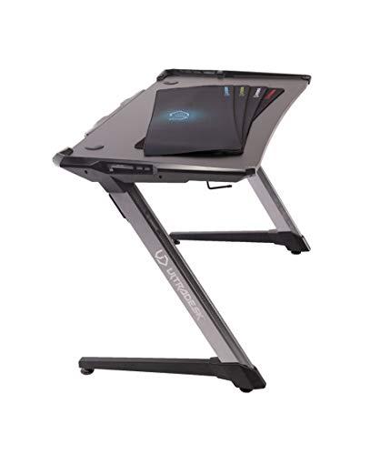 Ultradesk Racer - Gaming Tisch, Computertisch, Schreibtisch mit LED RGB