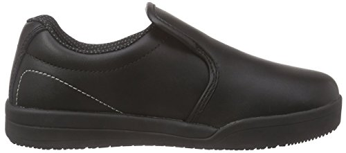 Sanita - San-chef Slipper-s2, Mocassini Unisex – Adulto Nero (Schwarz (Black 2))