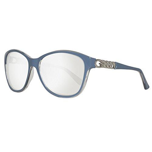 Guess Damen GU7451-5890C Sonnenbrille, Blau (Azul), 58