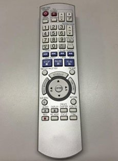 New Generic Replacement DVD TV Remote Control Fit for EUR7659Y70 for Panasonic DMRES35 DMRES35V DMRES35VP DMRES35VS DMRES36VPC DMR-ES45VS