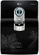 LG Puricare WW180EP RO + UV + UF + Mineral Booster Water Purifier with Dual Protection Stainless Steel Tank (Black)
