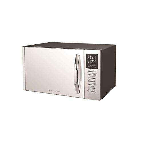 CE MO25SG13S - Micro-ondes combiné blanc porte miroir - 25L - 900 W - Grill 1000 W - Convection 1000 W