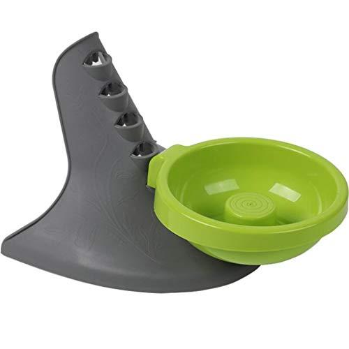 Hundenapf, Nackenschutz, Höhenverstellbar, Stapelbares Design, Slow Food Bowl, Hundenapf zur Anpassung - Design-stapelbar