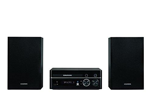 Grundig M 1100 Design Micro Anlage (CD/MP3-Wiedergabe und USB-Anschluß) schwarz