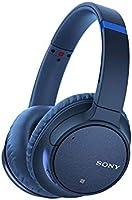 سماعات رأس لاسلكية بتقنية البلوتوث مع ميكروفون من سوني - CH700N – لون أزرق (مجموعة مكونة من قطعة واحدة)