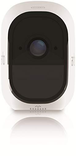 31hUgIS378L [Bon Arlo !  Arlo Pro - Smart Caméra de Surveillance, Paquet de 1, 720p, Jour/Nuit, Grand Angle 100% Sans Fils - VMS4130-100EUS