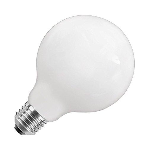 Bombilla LED E27 G125 Glass 10W Blanco Frío 6000K efectoLED