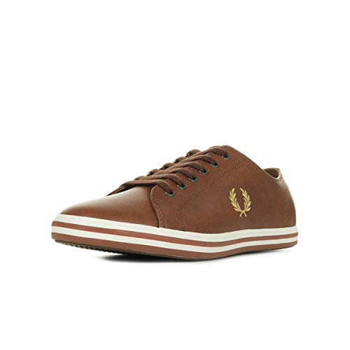 Fred Perry Kingston Leather Tan 1964 Gold 42