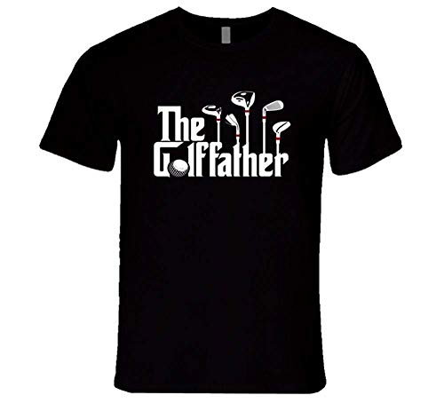 The Golffather The Godfather The Golf Funny Sports T Shirt,3XL -