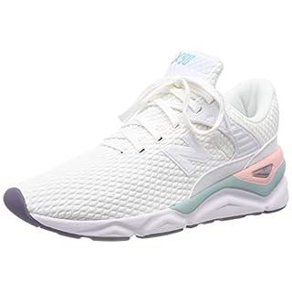 New Balance Damen X-90 Sneaker Weiß (White/Himalayan Pink Clh) 39 EU