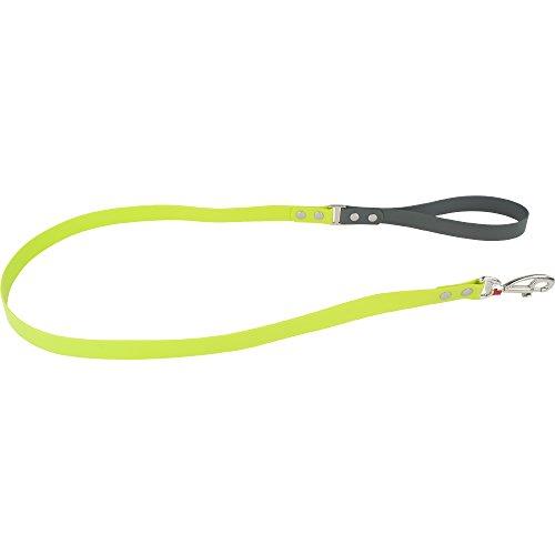 Red Dingo Vivid PVC Kunststoff lime grün Hundeleine, L