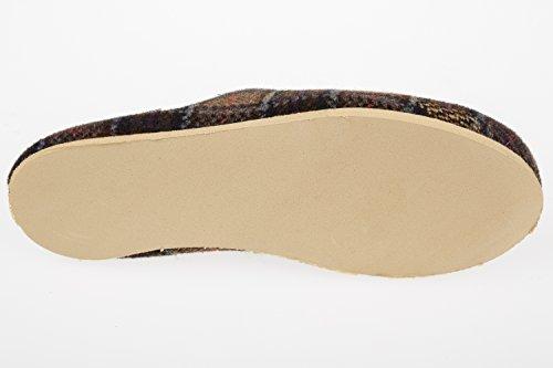 gibra, Pantofole uomo 48 Marrone (marrone)