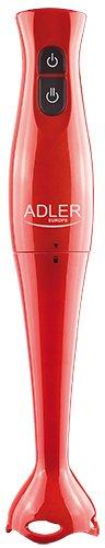 Adler-AD4610g-Batidora-de-mano-rojo-Uso-eficazsilenciosa-fcil-de-limpiar-potencia-de-200-W-incl-cuchillo-para-verdura