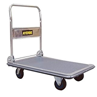 Ayerbe Folding Platform Trolley, 150 Kilograms
