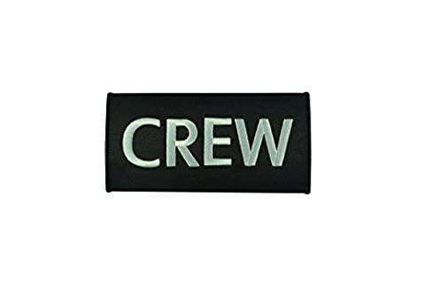 Crew Luggage Handle Wrap | Multicolours | High Quality (Black)