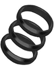 Clips supergrip rings negro harrows darts 3 unidades