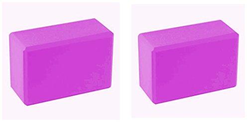 BodyRip Rose 2x blocs de yoga en mousse