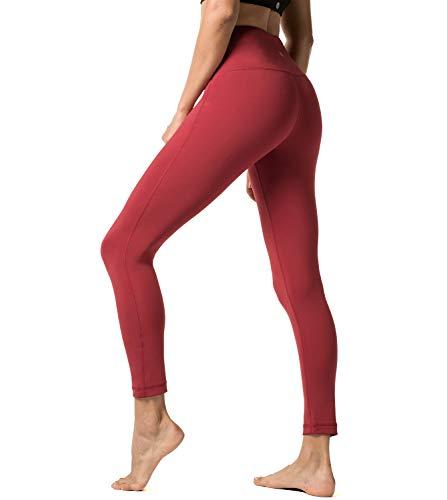 LAPASA Pantalón Deportivo Mujer Cintura Alta Malla