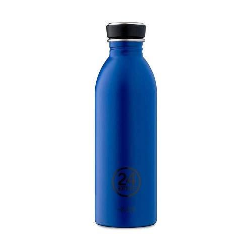 24Bottles Urban, Trinkflasche Unisex-Erwachsene,Blau (Dunkelblau), 500ml (Französisch Handtasche Blaue)