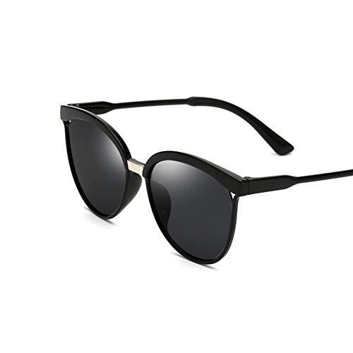 Kjwsbb Sonnenbrille-Frauen-übergroße Weinlese-Sonnenbrille für Damen-Retro- Farblinse