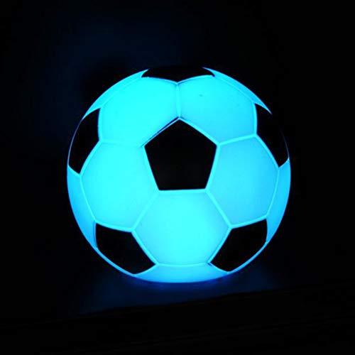 Uonlytech Lámpara fútbol LED Luz Noche