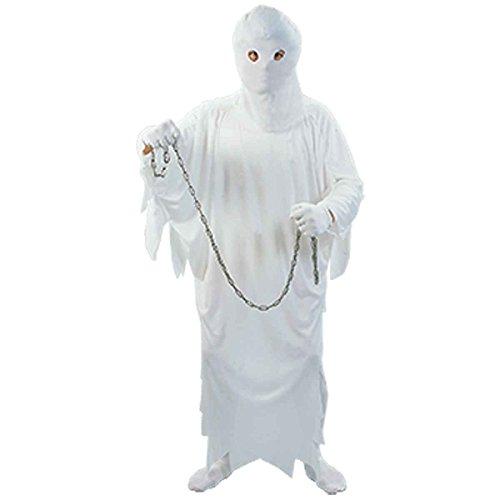 Kostüme Baby Haloween (Damen Mens Adult Haloween Ghost Kostüm Onesize EUR 36-42 (Onesize (EUR 36-42),)