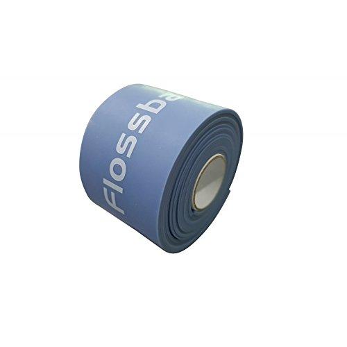 Flossband, einzeln, Standardbreite 5cm, in 4 verschiedene Stärken - Level 2 - blaubeere - mittel - 1,3 mm