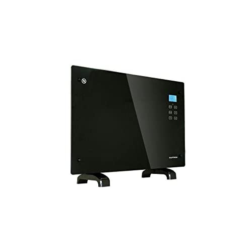 31hVI5t7ShL. SS500  - 2000w Black Glass Free Standing Wall Mounted Panel Convection Heater with LCD + Remote