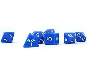 Dice4friends DIC86048 - Cubos para bebé, Color Azul y Blanco