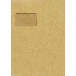 Preisvergleich Produktbild 5 Star(TM) Versandtaschen C4 HK mit Fenster braun 90 g/qm Inh.250