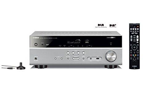 Yamaha RX-D485 AV-Receiver (5.1 MusicCast, mit Wi-Fi, Bluetooth und DAB Tuner) Titan