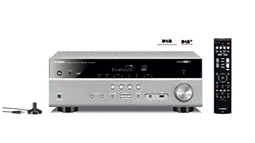 Yamaha RX-D485 Titan 5.1 MusicCast AV-Receiver mit Wi-Fi, Bluetooth und DAB Tuner - Yamaha Aventage