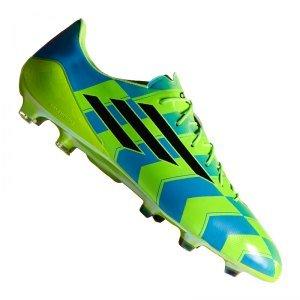 adidas Fußballschuh F50 adizero Crazylight TRX FG grün/blau