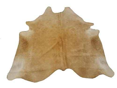 Narbonne Leather Co Alfombra De Piel De Vaca Natural