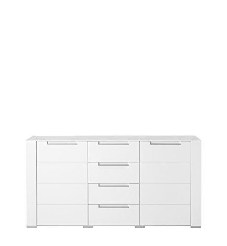 Paul DOWWA61020 Sideboard, Holz, weiß, 41 x 170 x 87 cm - 3